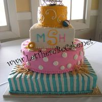 Beach Wedding 1 This cake was just way too fun to make! I great couple and a beutiful wedding with a layed back beach theme.