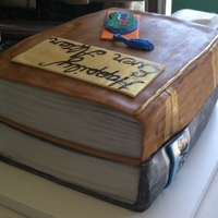Books Groom's cake for a groom that loves to read and his favorite team is The Gators. TFL
