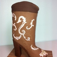 High Heel Western Boot