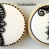 I Liked The Black And White Cookies That I Saw Online And Fell In Love With Them Here Is My Version The Original Cookies Are Way Better P I liked the black and white cookies that I saw online and fell in love with them. Here is my version. The original cookies are way better....