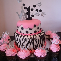 Zebra And Polka-Dots Princess