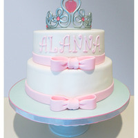 Princess Cake Tiara Baby Shower   Princess cake, tiara, baby shower