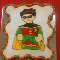 Teen Titans   Cupcake cake decorated in bc.