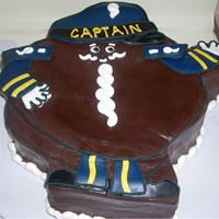 Captain Cupcake for a retired Hostess employee