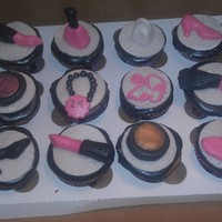 Fashion Lovers Cupcakes Gumpaste accents