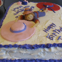 Pink Hatters 50Th Bd Graduation Cake This cake was made for one of our pink hatter girls in the Red Hat group who is turning 50. When a pink hatter turns 50, they move from...
