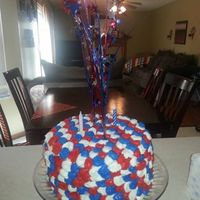 Fourth Of July Birthday Cake Fourth of July BIrthday Cake
