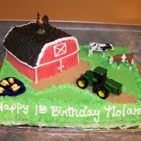 1St Birthday Barnyard