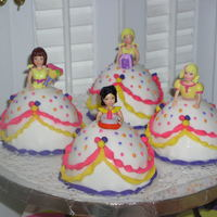 Polly Pocket Cake done in February 2006.