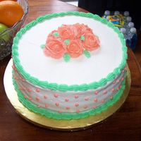Wilton I Final Cake Most of what I've learned is self taught, but I took Course I because the shells and that darn rose were eluding me. I still think I...