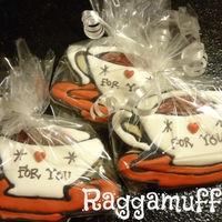 Coffee Cup Cookies Check out all my pictures on Facebook... Raggamuffins Cakes & Cookies