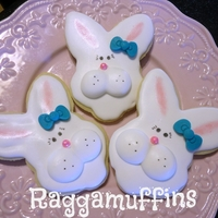 Easter Bunnies See all my photos on Facebook under Raggamuffins Cakes & Cookies
