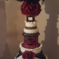 Burlesque Wedding Cake