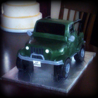 Jeep Grooms Cake