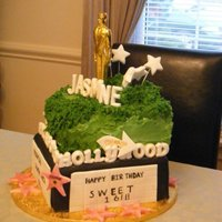 Hollywood Birthday Cake
