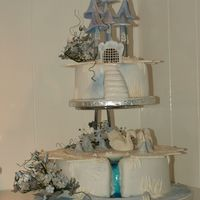 Swanlake Took a long time to make all the details, but love the outcome. Everything is made of sugar.