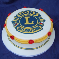 Lions Club A new president is taking over at our Lions Club so for the festivities I thought it might be nice to have an official cake. I seriously...