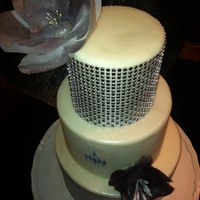 Wafer Paper And Bling Just plain with wafer paper and bling....