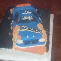 Racecar Cake For My Nephew's 4Th Birthday *