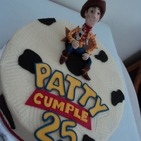 Woody Toy Story Cake Buttercream cake for a lady who loves Woody, she turned 25.