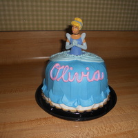 Princess Olivia This was made as a special topper to go with princess cupcakes for a baby shower I was helping to host.