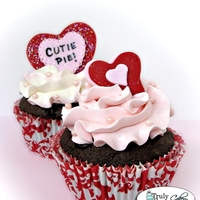 Valentine's Day Cupcakes I'll be mass producing these in a couple weeks. lol