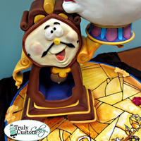 "Beauty & The Beast Competition Cake. Winner ""most Artistic"""