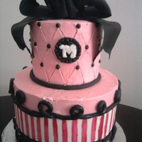 French Themed Cake