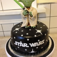 Yoda Cake I Made For My Sons 6Th Birthday Yoda cake I made for my son's 6th birthday.