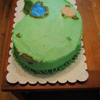 Fore!!!! Not my best. A friend needed a cake donated for a golf tournament for her son. He is graduating this year and this was a fund raiser the...