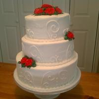3 Tier Wedding Cake With All Bc 3 tier wedding cake with all bc
