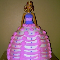 Barbie all bc, it was accompany by 18 cupcakes