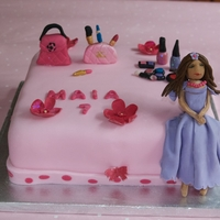 Pamper Party Everything edible even the princess