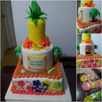 Luau Cake A client provided the design. I tried to look for the original decorator who did this but i failed. Anyhow, this is my replica and it...