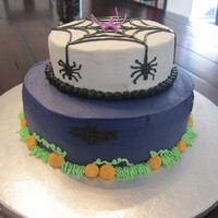 Halloween Cake   butter cream