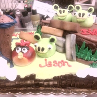 Angry Birds   Angry birds gumpaste and fondant