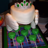 Claddagh Ring Cake