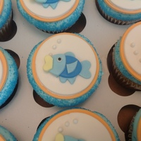 Fish Cupcakes And Cake Pops