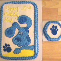 Blues Clues Blues Clues Cake & Mini cake