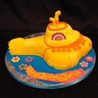 We All Live In A Yellow Submarine Modeled after the Beatles' Yellow Submarine cartoon.