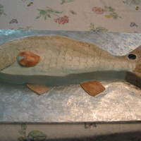 Redfish Groom's Cake