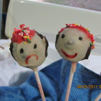 Pirate Cake Pops diferent pirate pops for my grandsons birthday