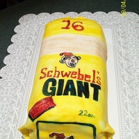 Schwebel's Bread This was made for my daughter's best friend. She LOVES white bread and always ends up eating my loafs when she visits. So for her...