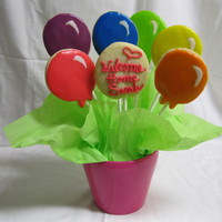 Balloon Cookie Bouquet