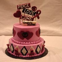 Cure   Cake donated for a fundraiser for Crohns disease
