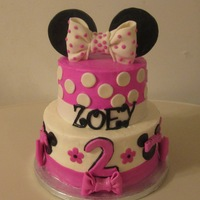 Minnie Mouse Cake Minnie Mouse Cake