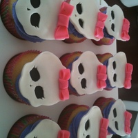 Monster High Cupcakes My daughter is in love with Monster High so she requested this as her theme. Thanks to TerriLynn and other Cake Central members for...