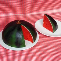 Watermelon - My First Airbrush-Experiment ;-)
