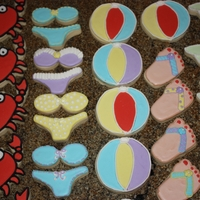 Summer Cookies NFSC with Antonia74 royal icing. Summer cookies for trip to South Carolina
