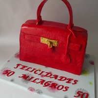 Grace Kelly Bag Cake